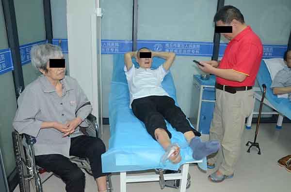安徽糖尿病足骨髓炎患者集多病于一身,还能保守不截肢治好吗?